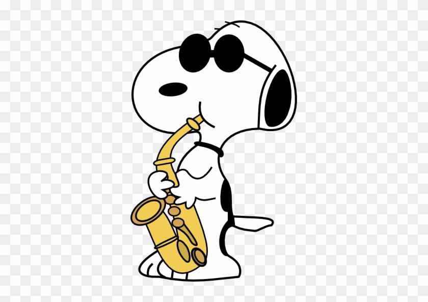 Snoopy - Snoopy Saxophone #107447