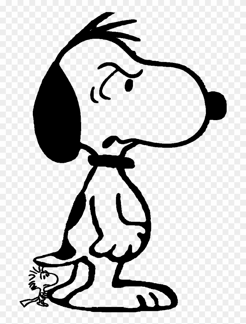 Este Heroico Beagle Protege Seu Pequeno E Amado Passarinho - Super Snoopy #107450