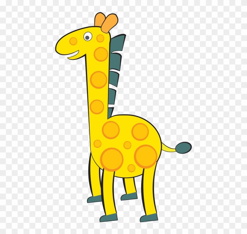 Giraffe Free To Use Clipart - G For Giraffe Clipart #107479