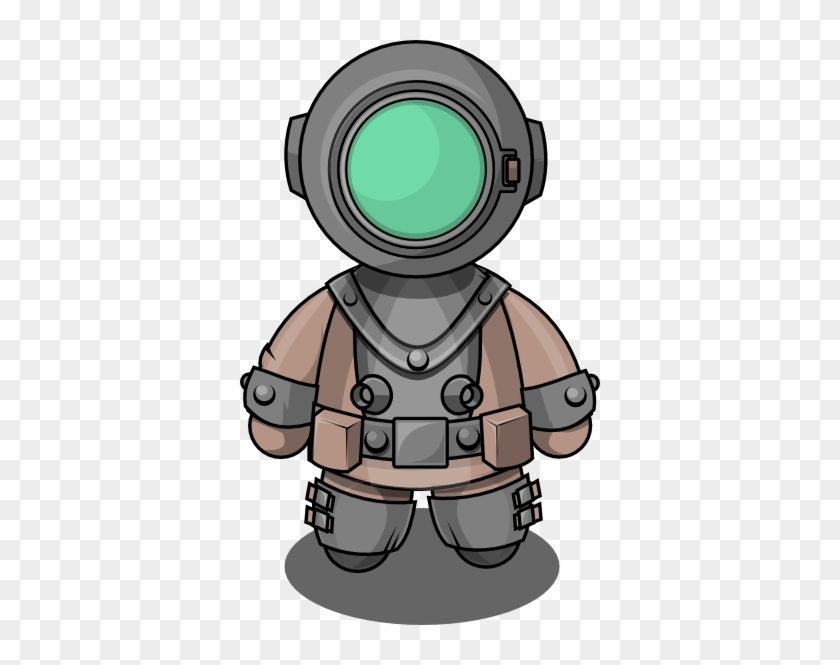 Free To Use Public Domain People Clip Art - Underwater Diver Clipart #107492