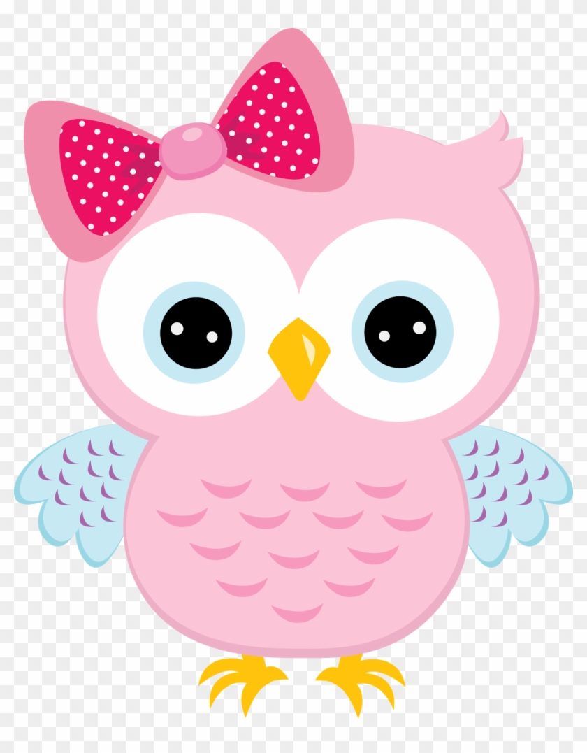 Cherry Clipart - Pink Owl Clipart #107499
