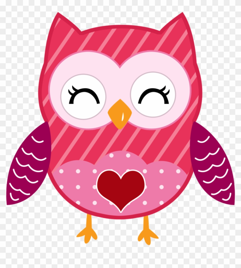 Valentine Cute - Minus - Valentines Clip Art Owl #107505