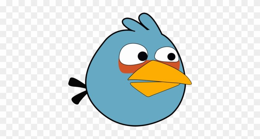 Excellent Ideas Blue Bird Clipart Image Of Angry 3003 - Blues From Angry Birds #107523