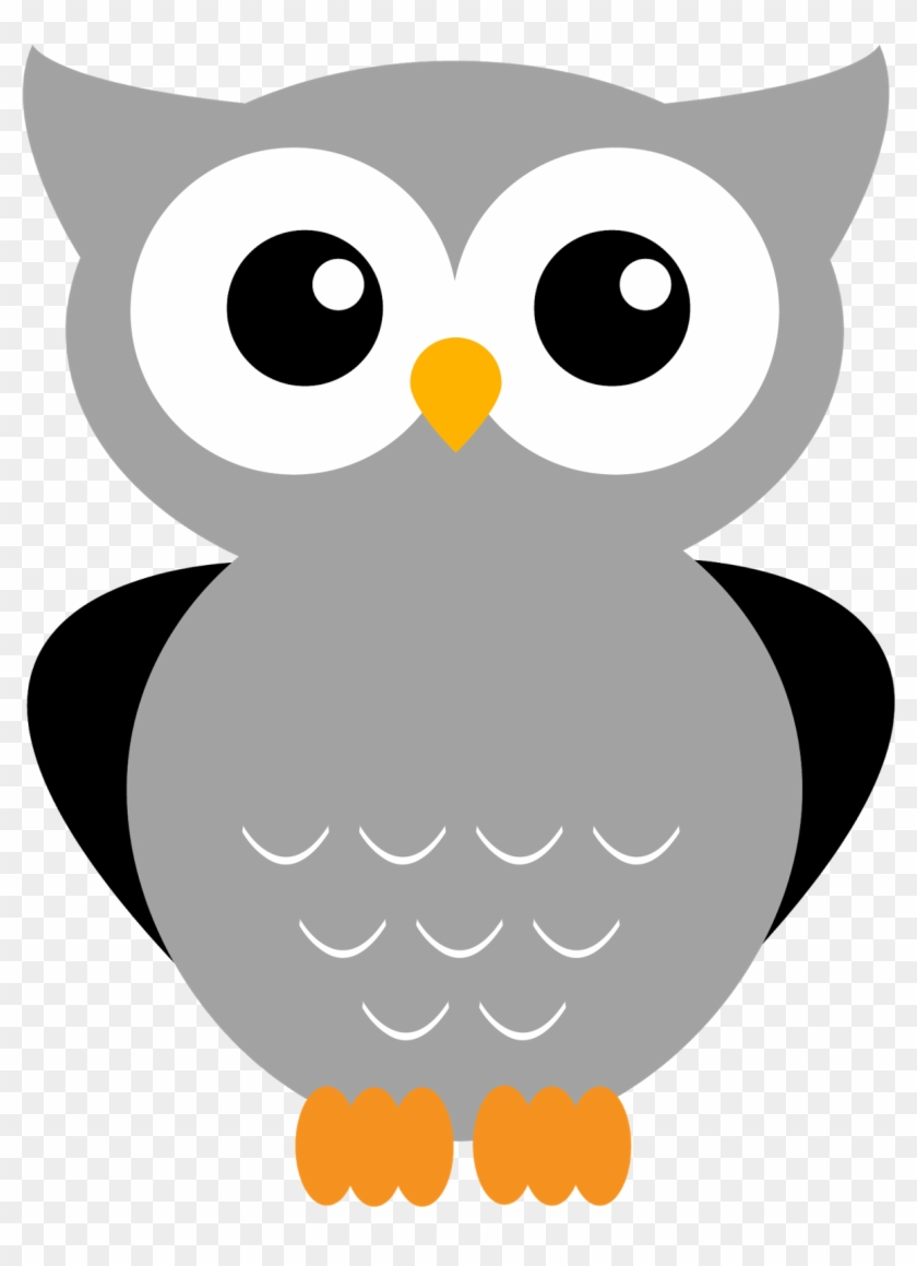 12 More Adorable Owl Printables - Grey Owl Clip Art #107525