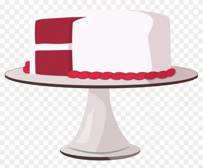 Velvet 20clipart - Red Velvet Cake Clip Art #107705