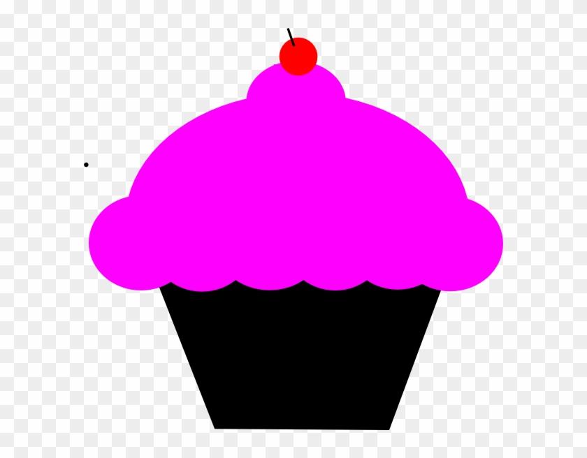 Cupcake Clipart Pink Cupcake - Clip Art #107733