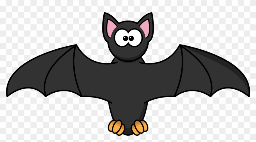 Fledermaus Flügel Halloween Unheimlich Ang - Clip Art Of Bat #107743