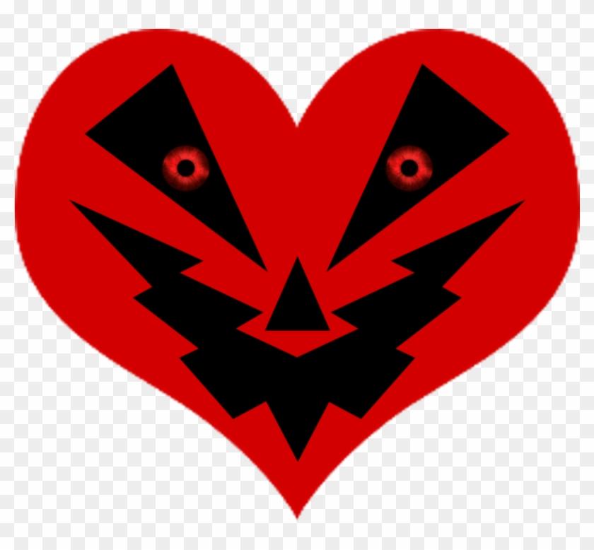 Anti-valentine/heart O Lantern Symbol 3 By Nightmarebear87 - Emblem #107762