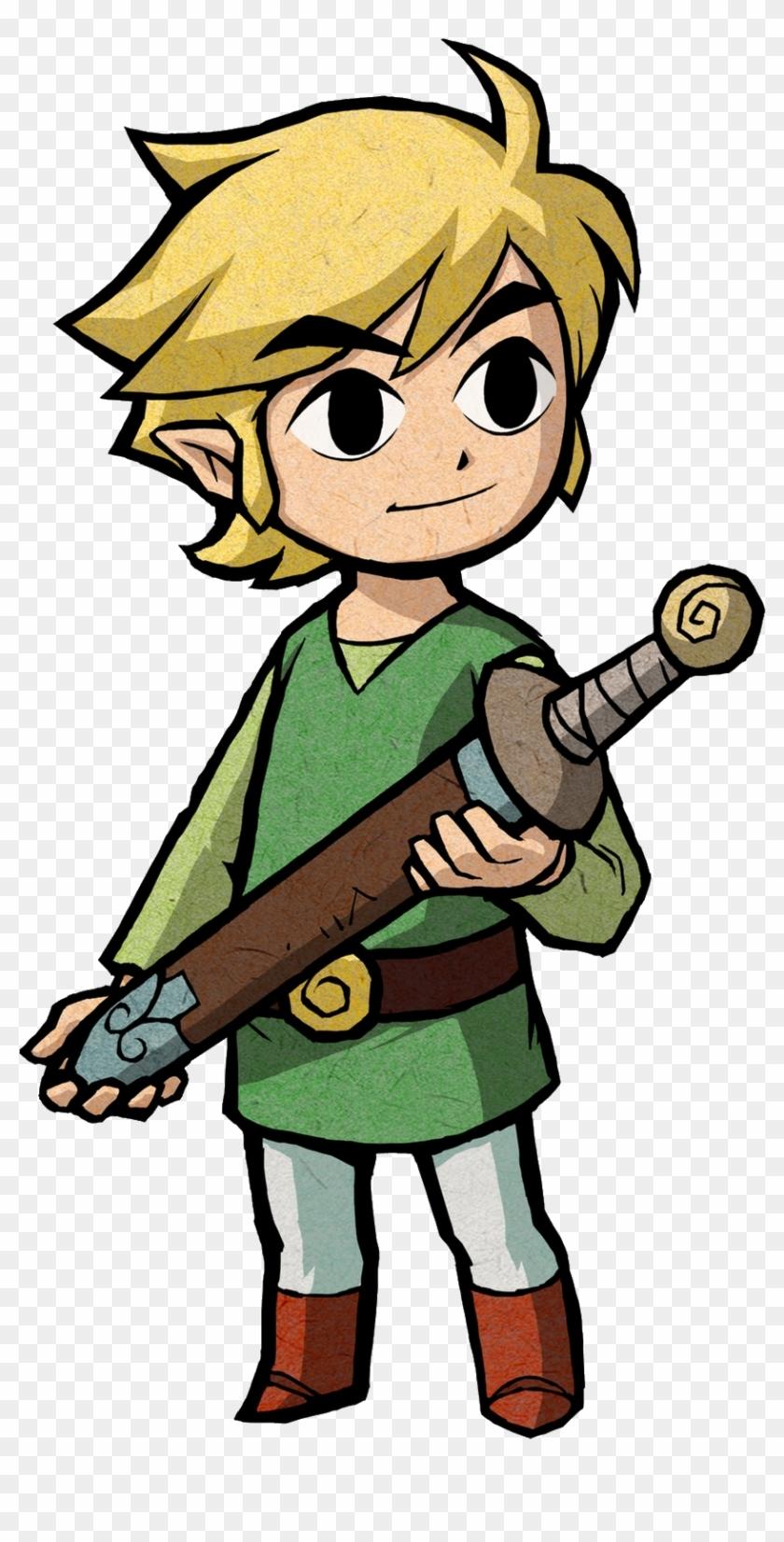 Zelda Clipart Tribal - Legend Of Zelda Link #107766