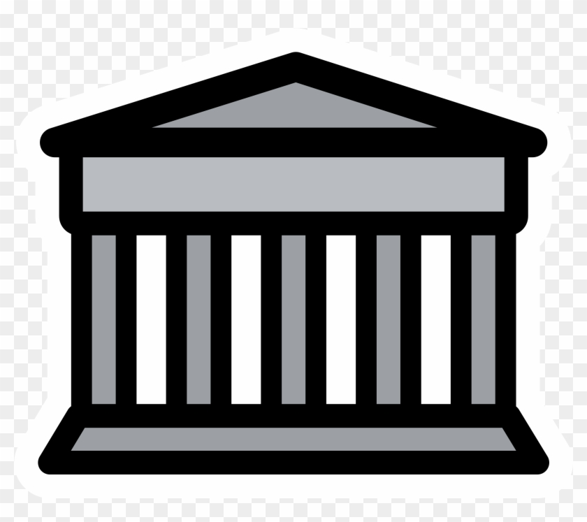 Simple Bank Clipart Clip Art - Bank Clip Art Transparent #107771