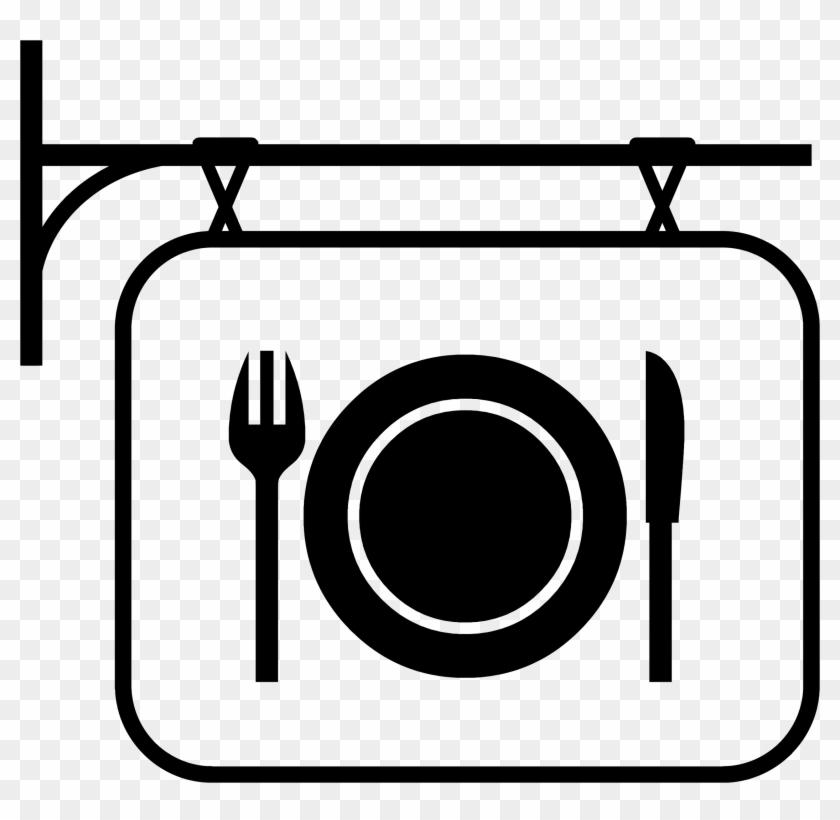 Family Eating At Restaurant Clipart - Restaurant Clipart #107774