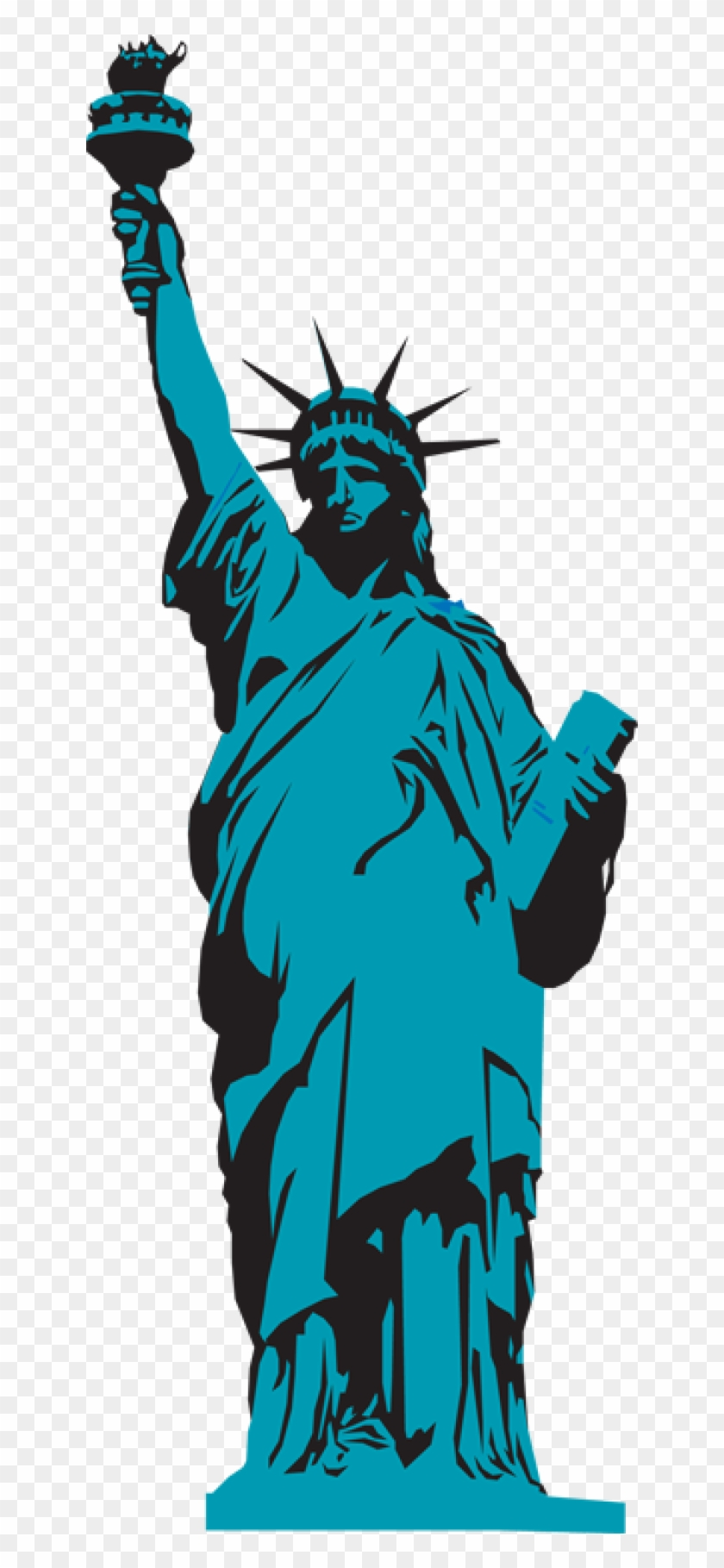 Clipart Statue Of Liberty Many Interesting Cliparts - Statue Of Liberty #107784