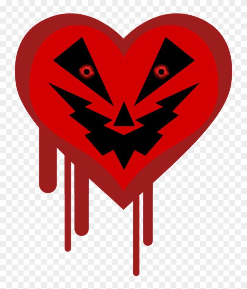 Anti-valentine/heart O Lantern Symbol 23 By Nightmarebear87 - Heartbleed #107830