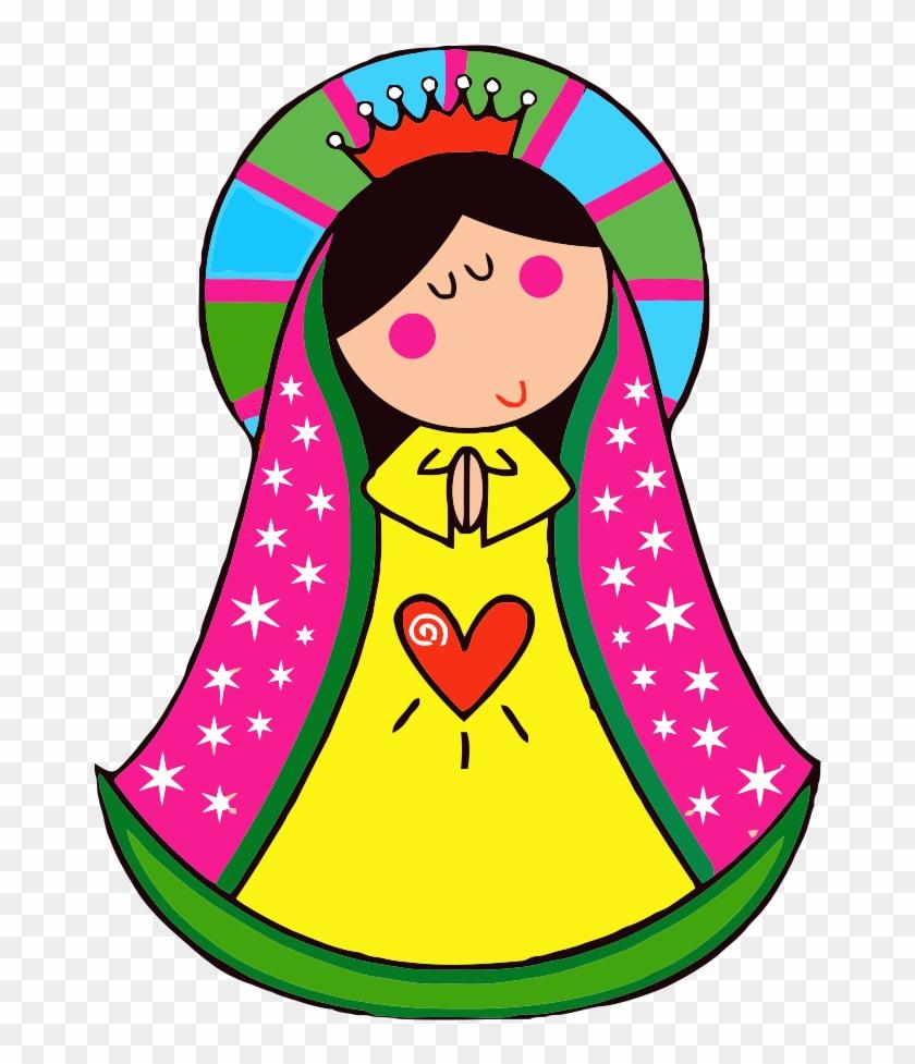 Si La Quieres Aun En Mayor Tamaño Escribeme, Besos - Virgen De Guadalupe Animada #107839