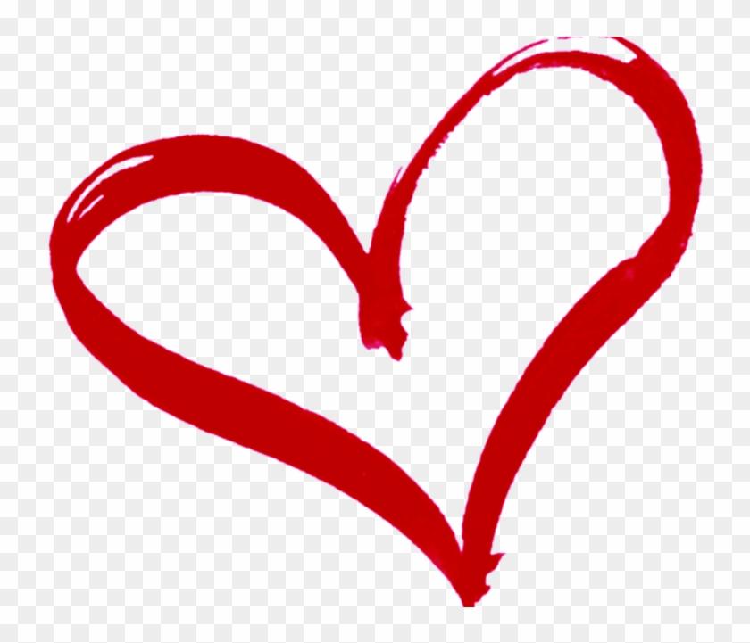 Red Heart Outline Transparent Background #107843