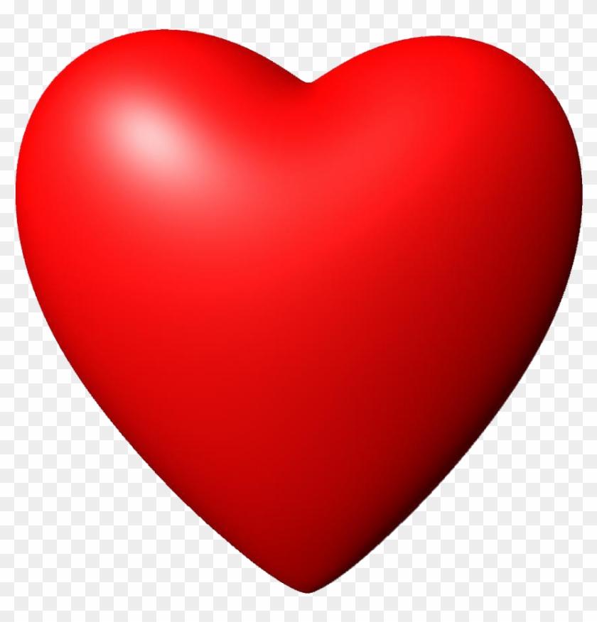 3d Red Heart Image Png Image - 3d Red Heart Image Png Image #107875