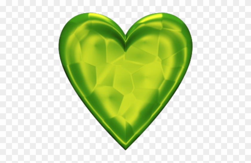 Green Heart No Background #107915