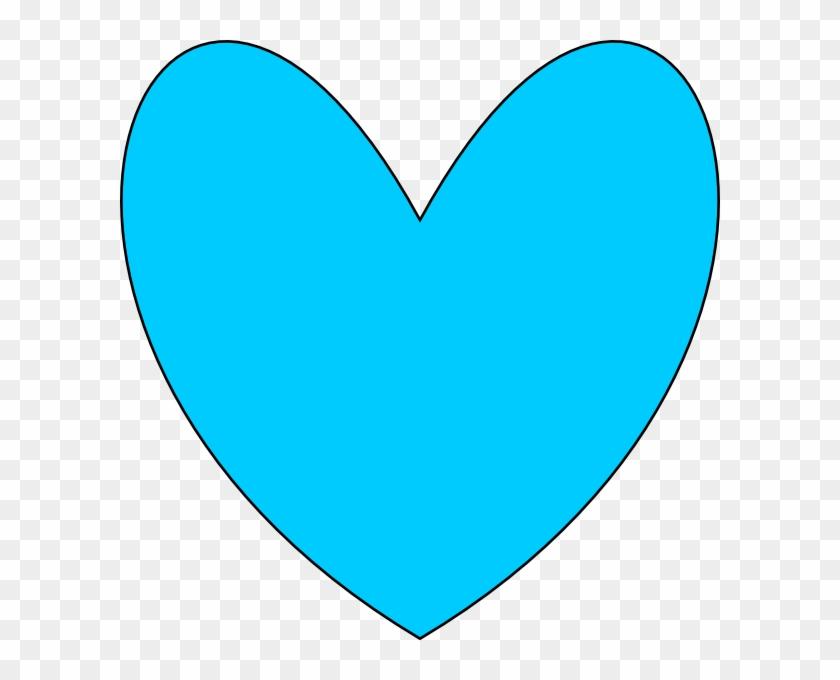 Blue Heart Clip Art At Clkercom Vector Online Royalty - Mint Green Heart Clipart #107957