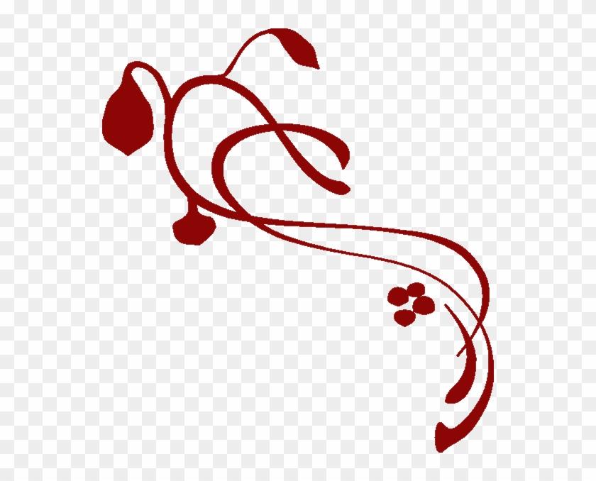 Burgundy Donkerrooi Red Clip Art - Clip Art #107961