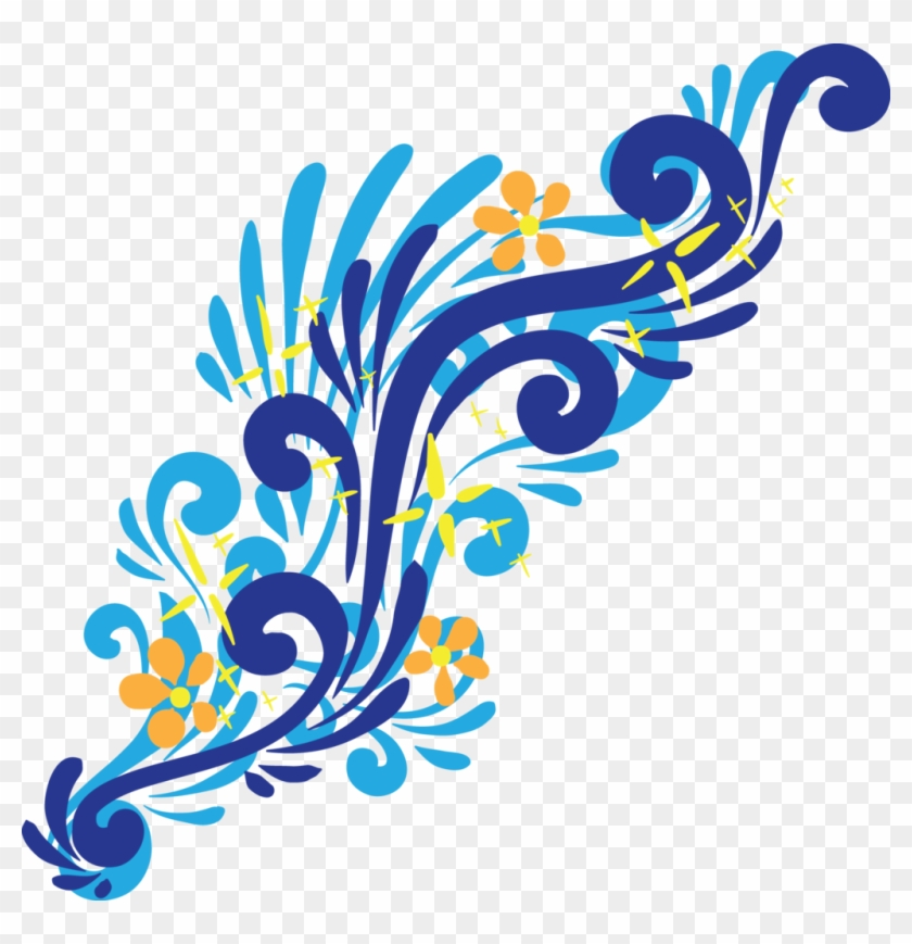 Blue Swirl Png - Art #107973