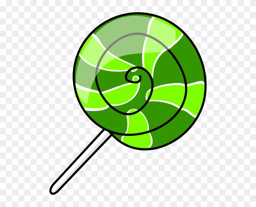 Clip Art Lollipop Clipart 2 Image - Lollipop Clip Art Transparent #107990