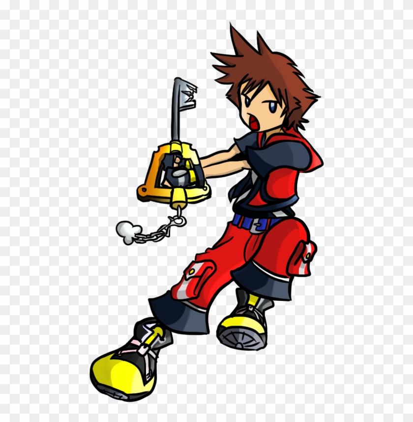 Kingdom Hearts 3d - Chibi Sora Kingdom Hearts Ddd #107996