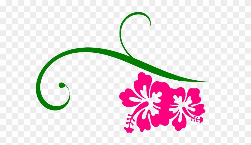 Pink - Swirls - Clipart - Pink And Green Swirls #108038