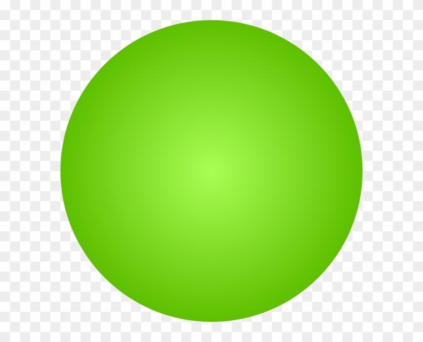 3d Green Ball - Green Ball Clipart #108047