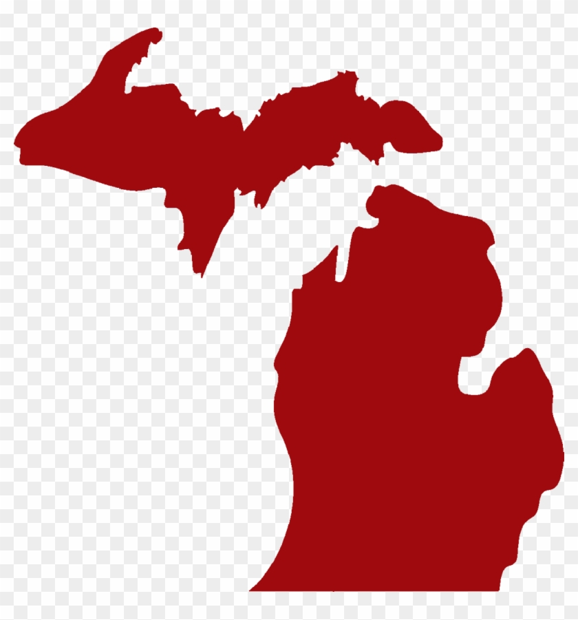 Clear View Security Is - State Of Michigan Vector #108074