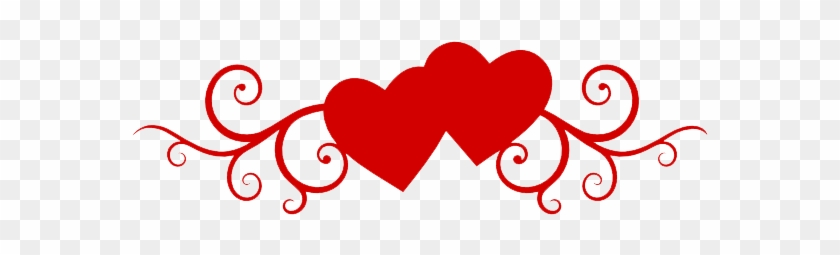 Heart Wedding Transparent Png Sticker - Valentine's Day Wishes For Brother #108086