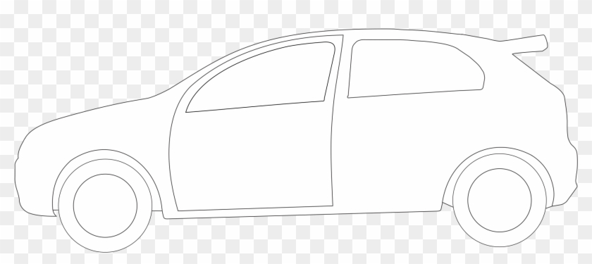 Shapes Clipart Car Pencil And In Color Outline Of A Big Car Free