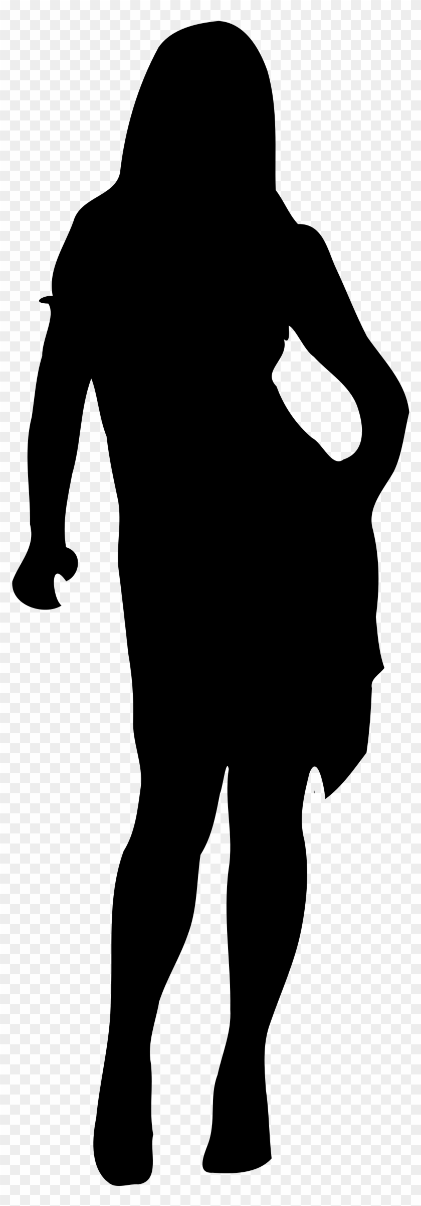Female Shape Cliparts - Woman Silhouette Png #108096