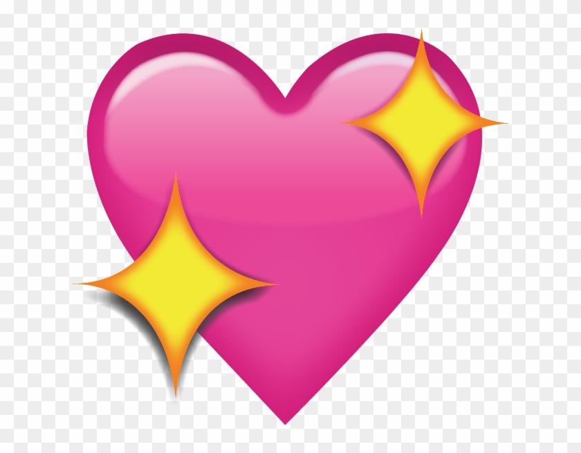 Pink Heart Emoji Transparent #108125