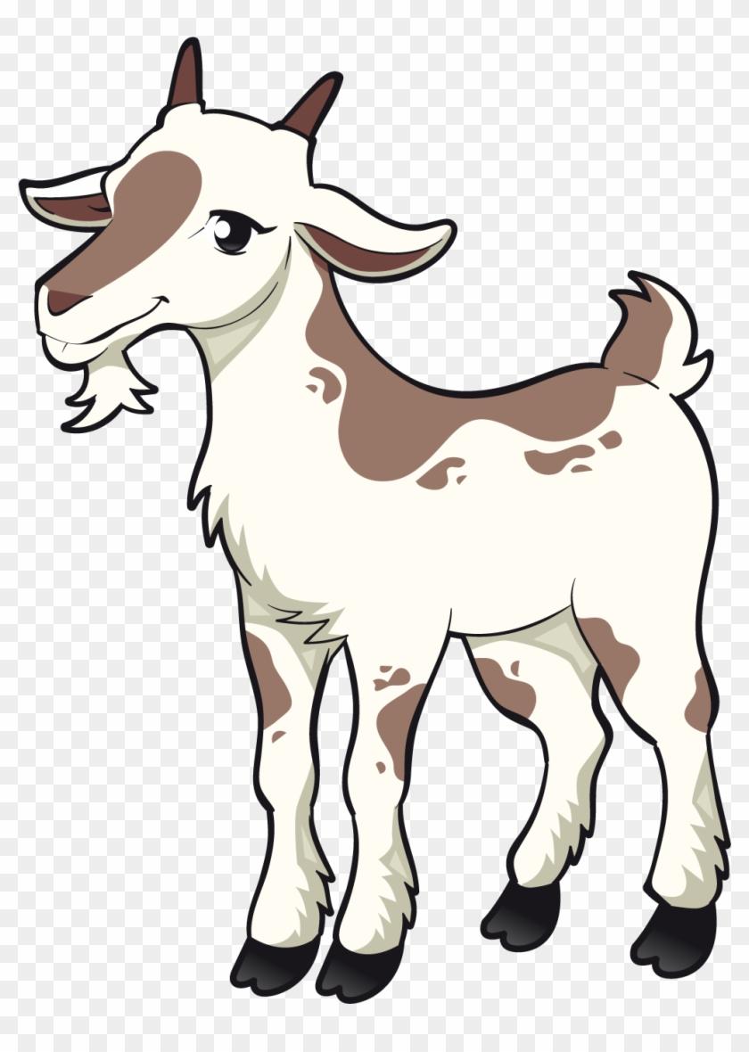 Goat Sheep Clip Art - Three Billy Goats Gruff Clipart #108171