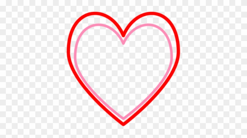 Texas - Heart - Clipart - Pink And Red Heart #108187