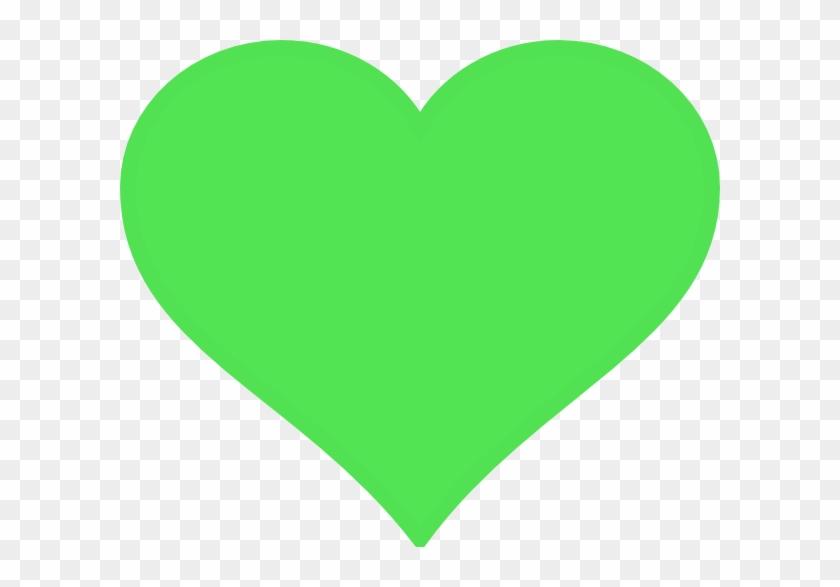 Hit That Green Heart - Green Heart Clipart #108212