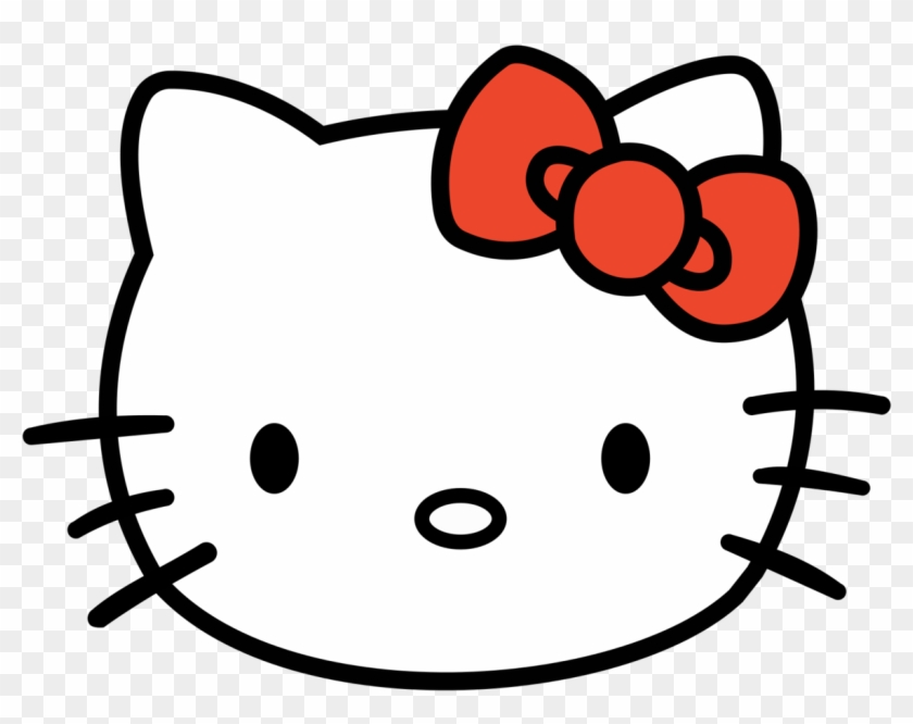 Hello Kitty - Hello Kitty Face Png #108259