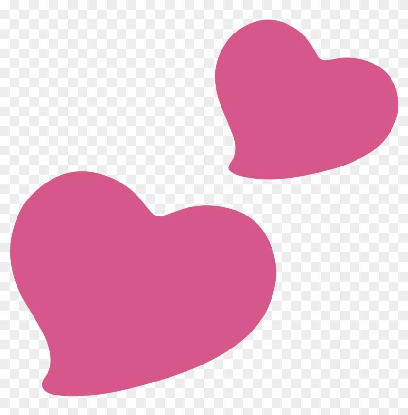 Transparent Heart Emoji Android #108361