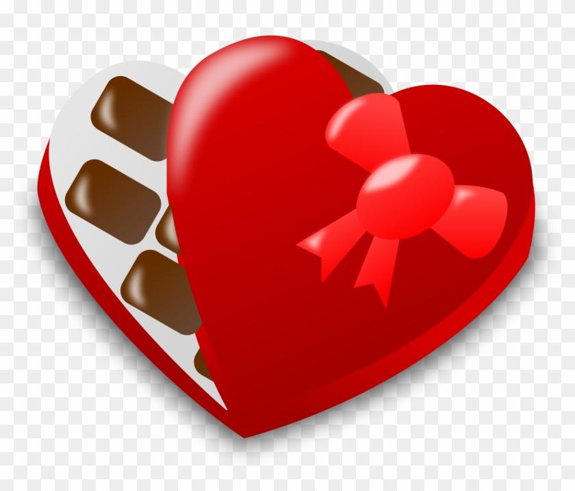 Valentine Day Icon - Valentine Chocolate Clip Art #108438