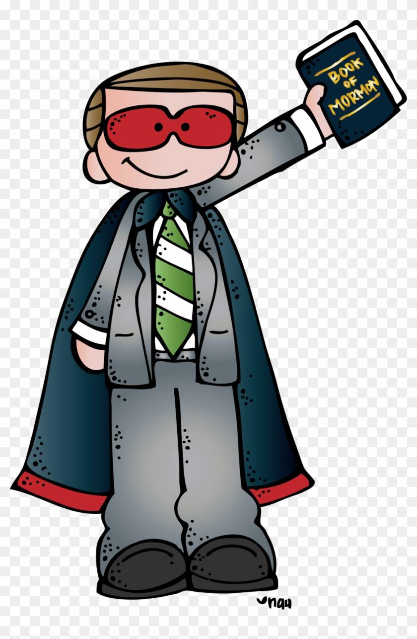 Cool Clip Art-melonheadz Lds Illustrating - Lds Scripture Heroes Clipart #108930