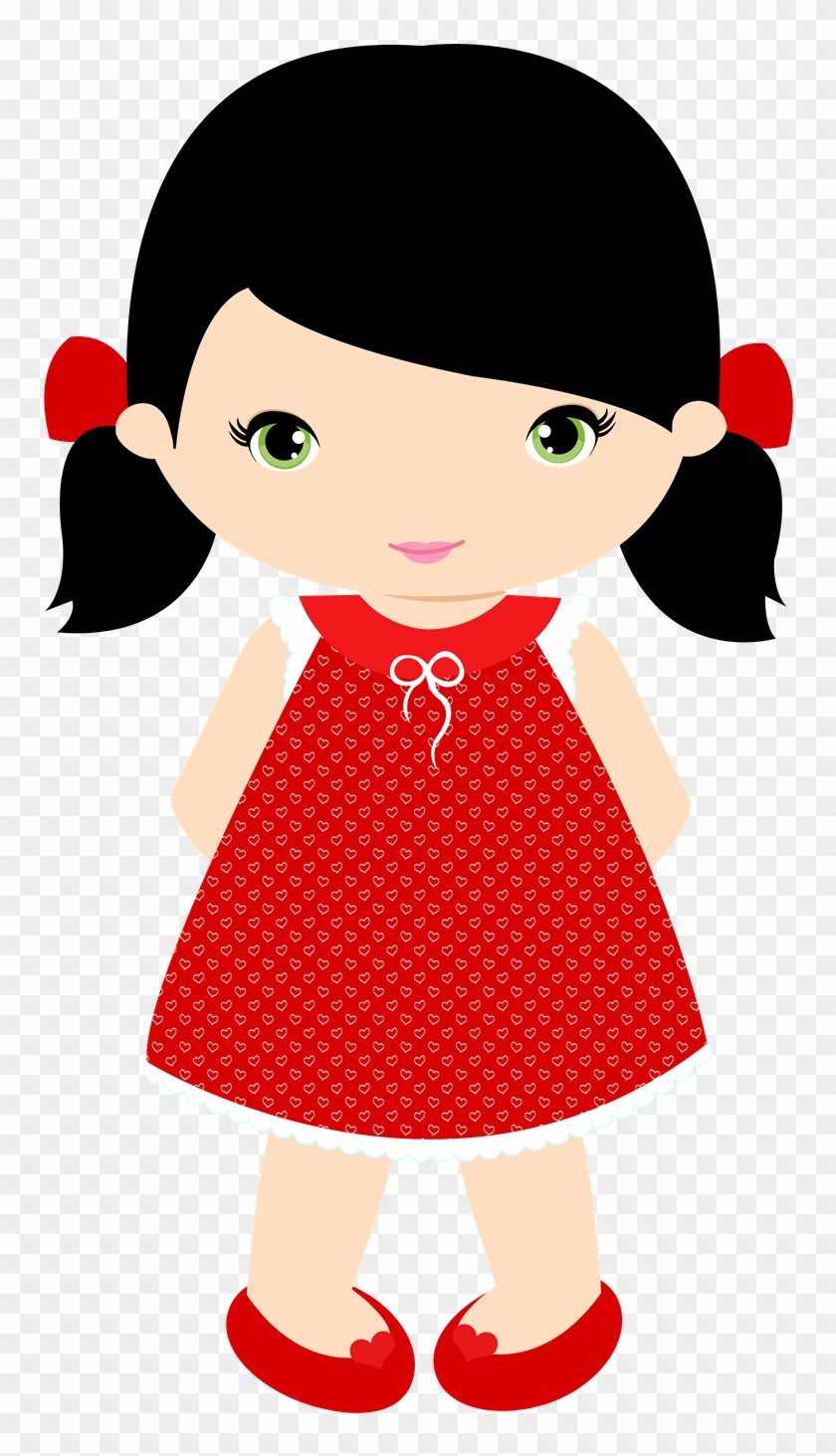 Preview - Minus - Clipart Little Girl #108989