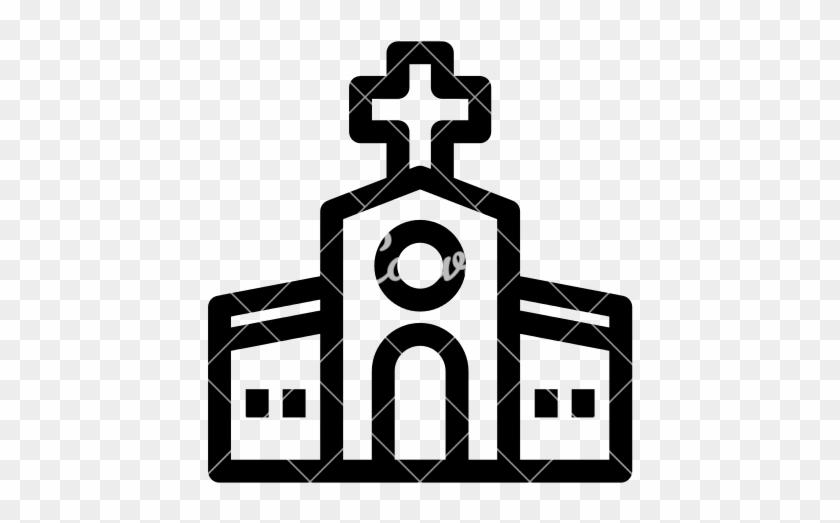 Catholic Church - Hospital Cart Icon #109072