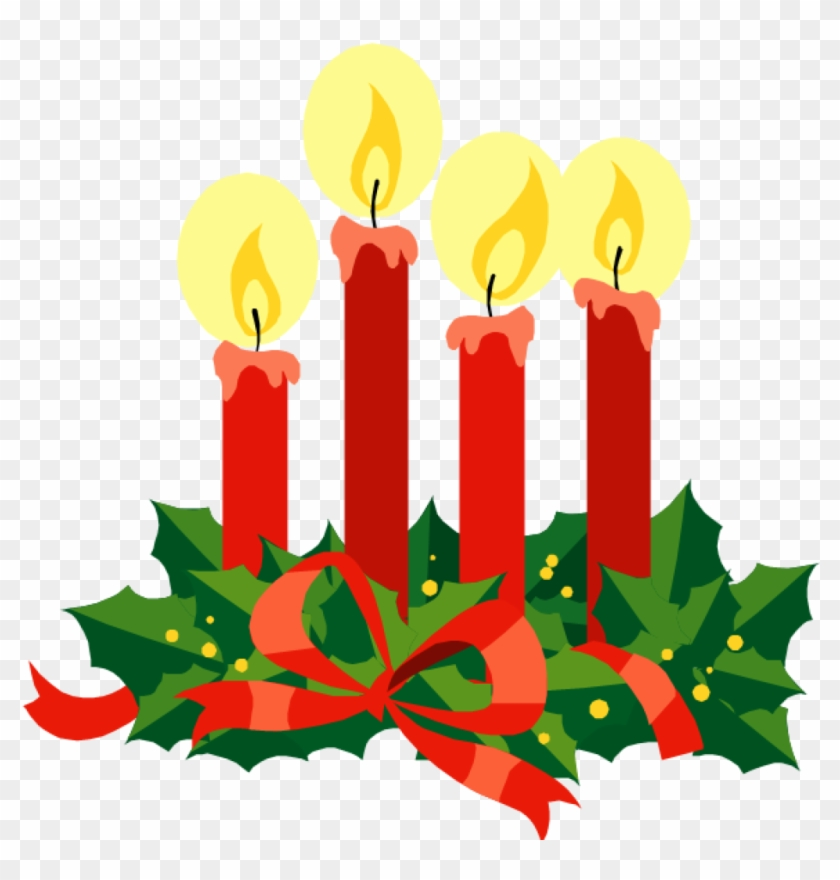 Free Advent Clip Art Religious Advent Clipart Clipart - Christmas Eve Candlelight Service #109111