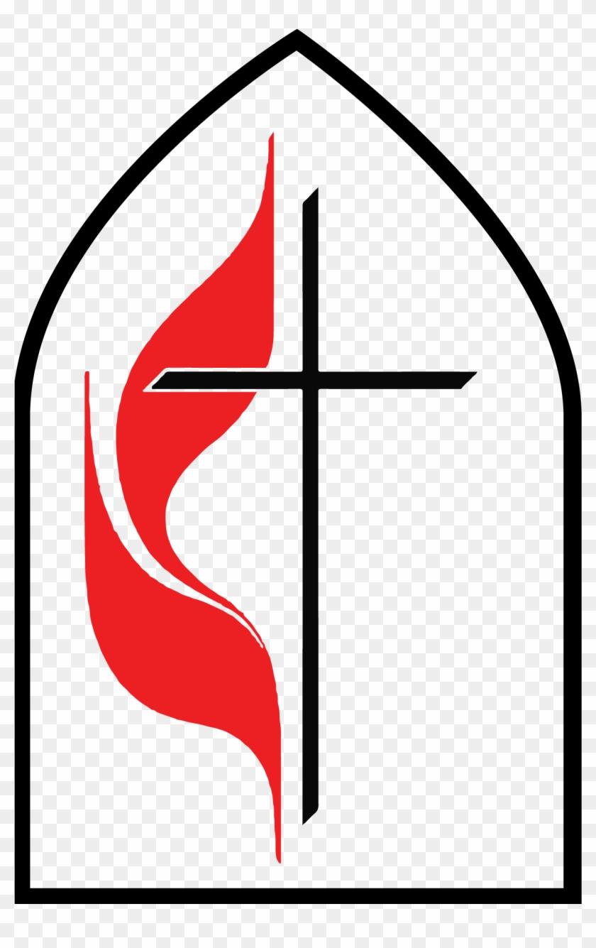 Clip Art Methodist Church United Symbol Free Clipart - United Methodist Church #109187