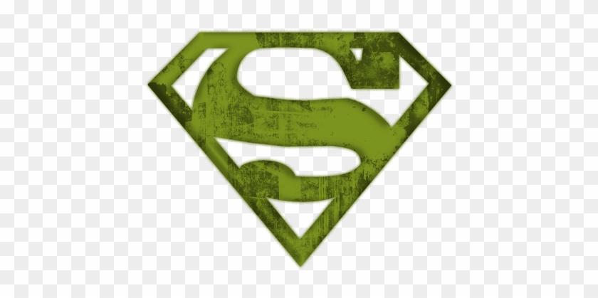 Superman Logo - Super Hero Logo Silhouette #109273