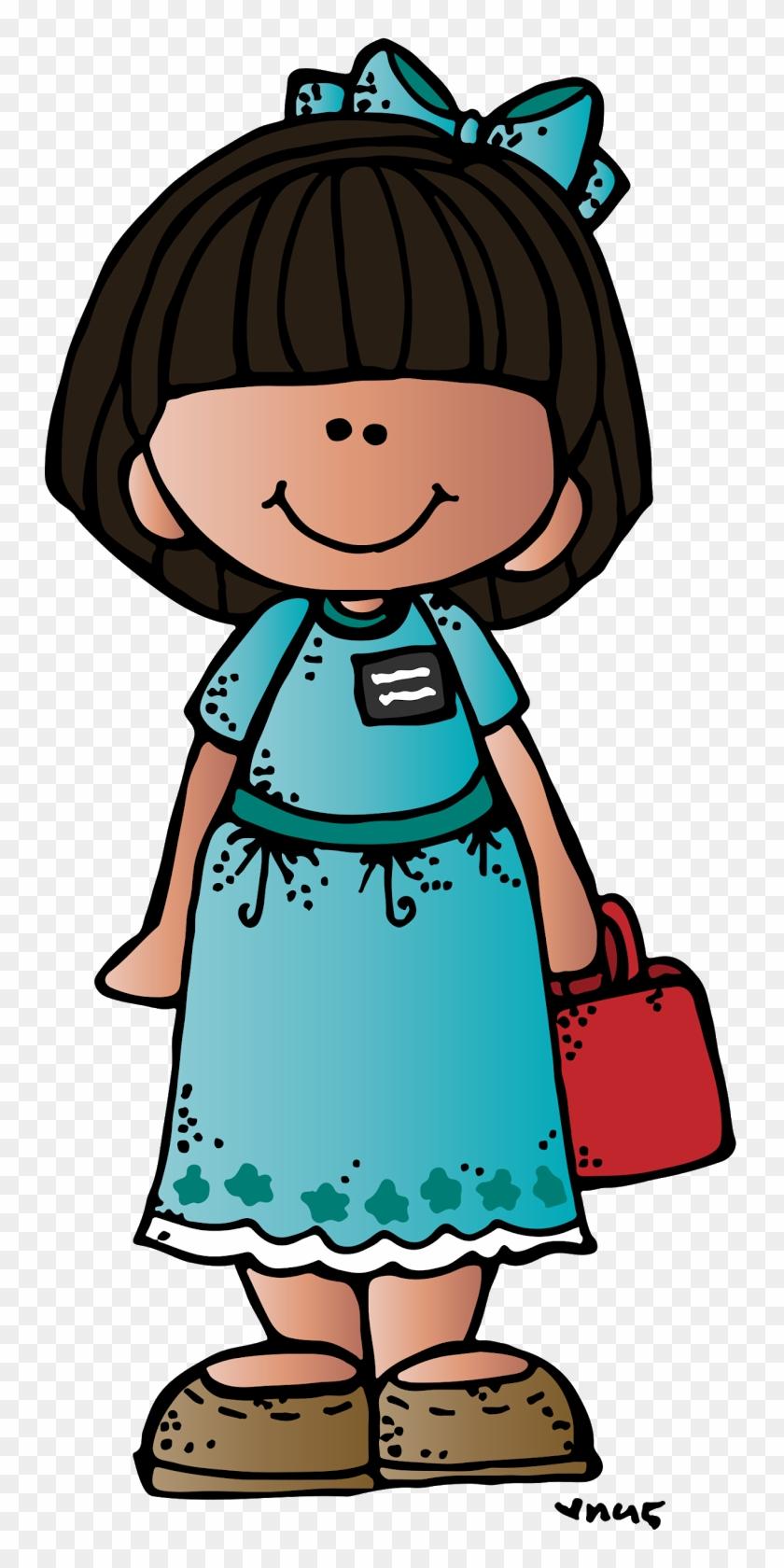 Melonheadz Lds Illustrating Future Missionaries Freebies - Melonheadz Girl #109447