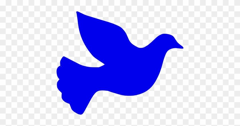 Peace Clipart Blue - Pink Dove Clip Art #109736