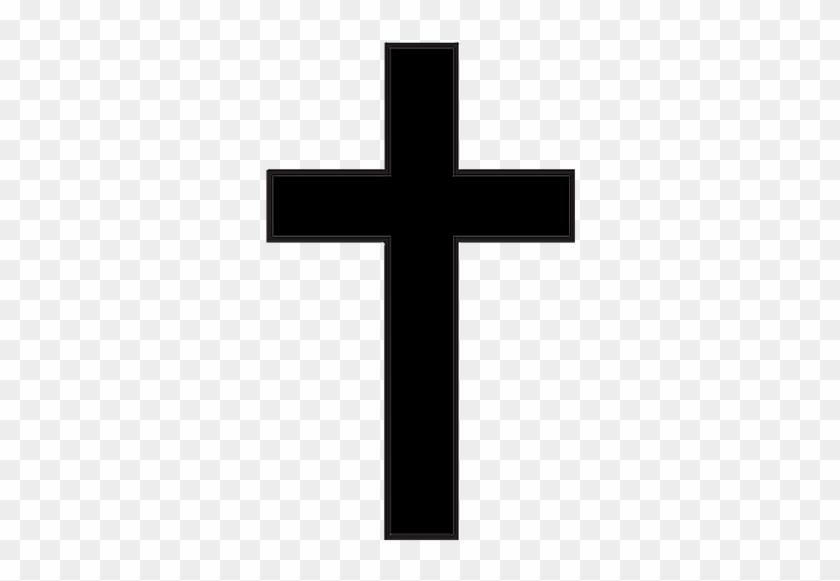 Communion - Black Cross Clipart #109977