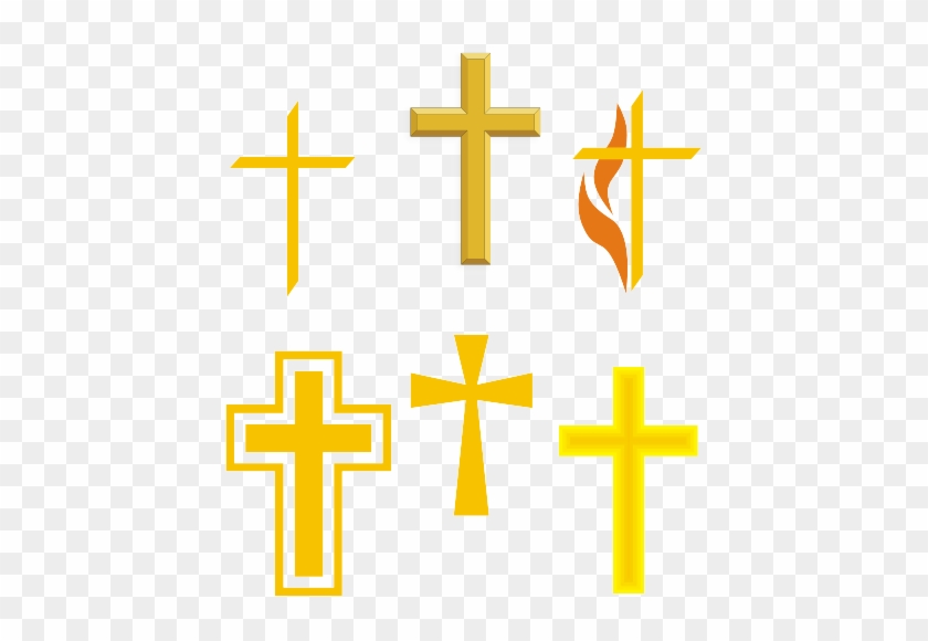 Yellow Cross Clipart Christianity Cliparts Free Download