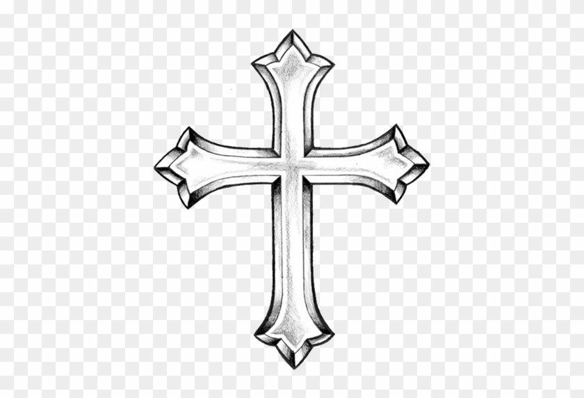 Cross Tattoo Design - Free Transparent PNG Clipart Images Download